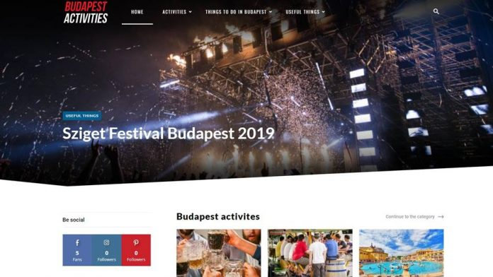 budapest activities magazin